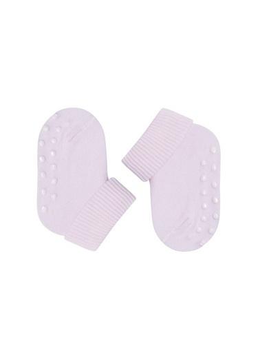 Katia & Bony 3 Lü Yenidoğan Basic Patik Çorap  Pembe